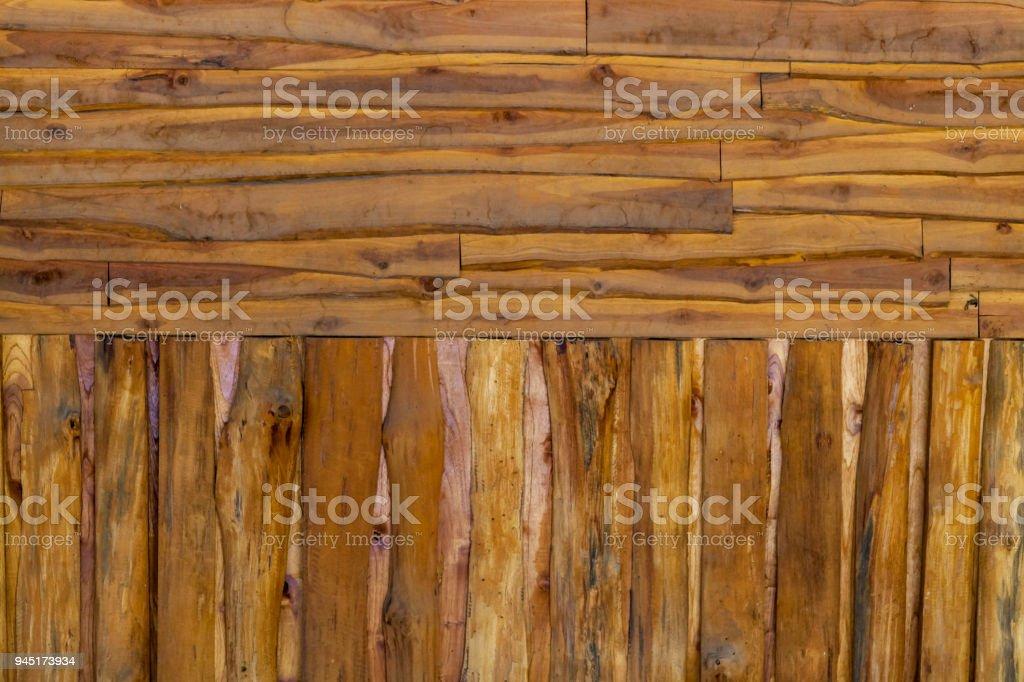 Crossover Wood floor stock photo