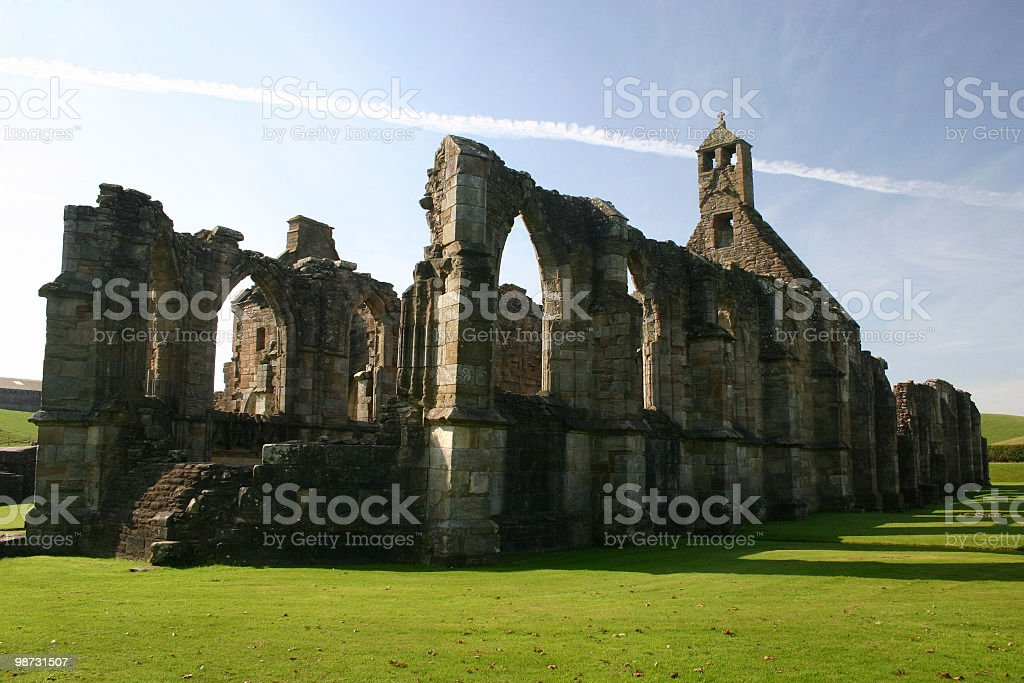 Crossraguel Abbey royalty free stockfoto