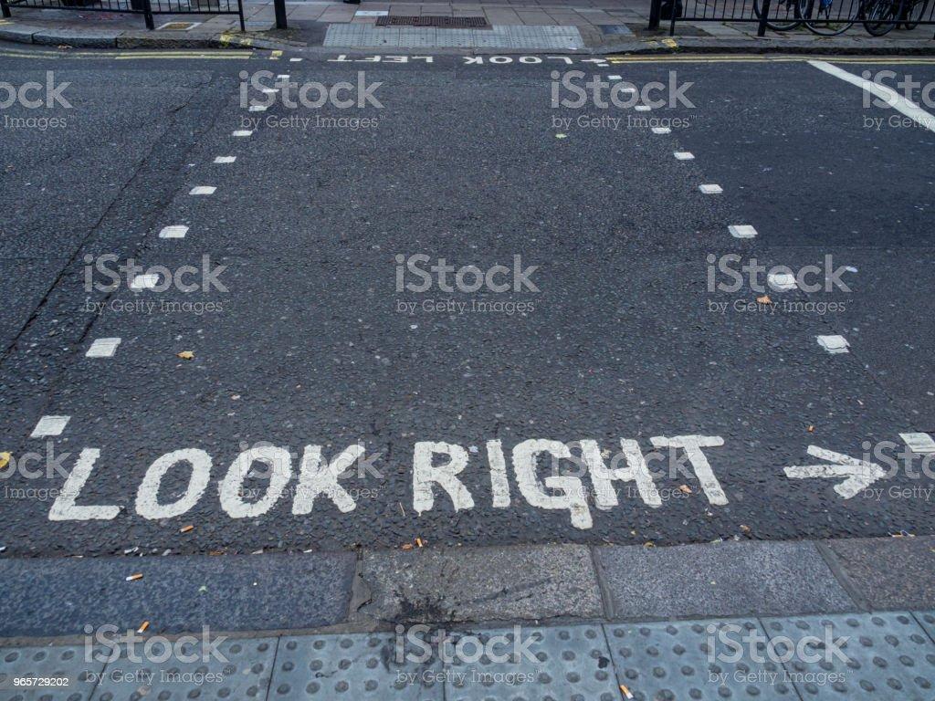Crosswalk in London - Royalty-free Asphalt Stock Photo