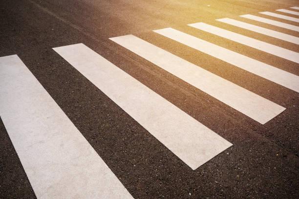 Paso peatonal - foto de stock