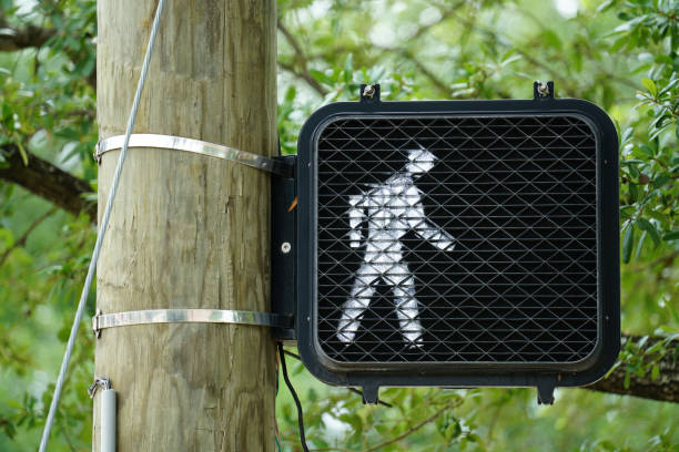 Crosswalk Signal stock photo