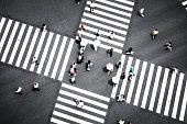 Tokyo - Japan, Ginza, Asia, Crowd, Japan