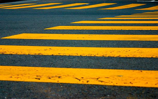 Crosswalks stock photo