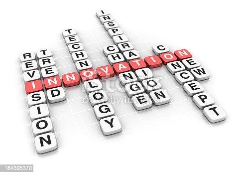 Crossword: Innovation Concept