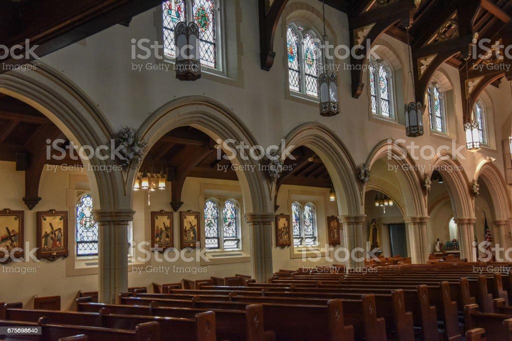Croton-on-Hudson Church royalty-free stock photo