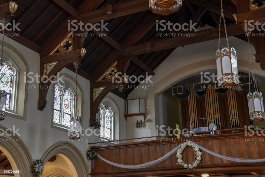 Croton-on-Hudson Church royalty-free stock photo