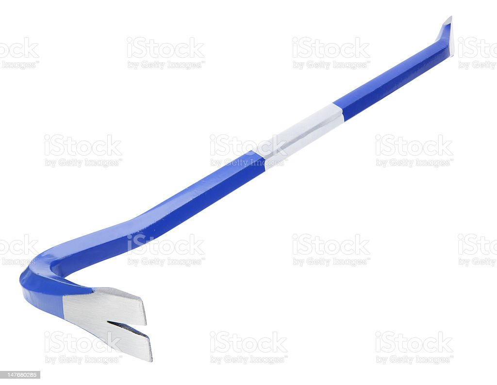 Crowbar royalty-free stock photo