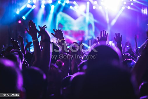 istock Crowd applauding on a concert 837765936