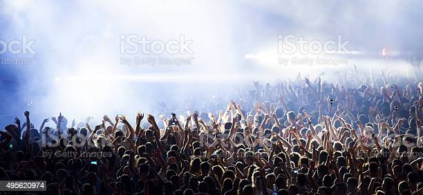Photo of Crowd at concert