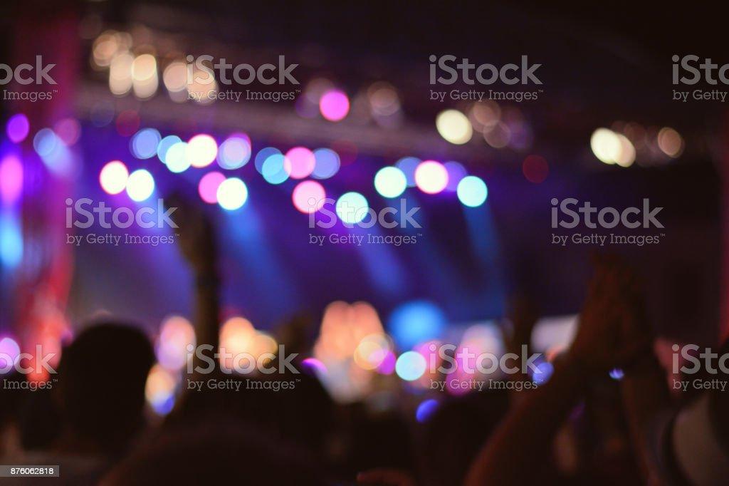 Publikum beim Musikfestival. Rock-Konzert. – Foto