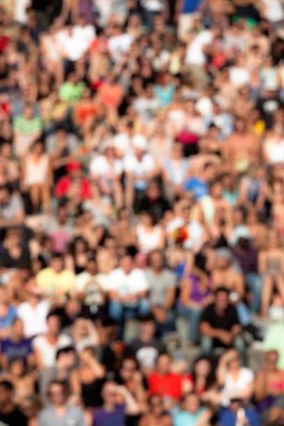 Menschenmenge Hintergrund – Foto