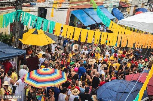 Carnival - Celebration Event, Olinda, Day, Crowd, Spectator