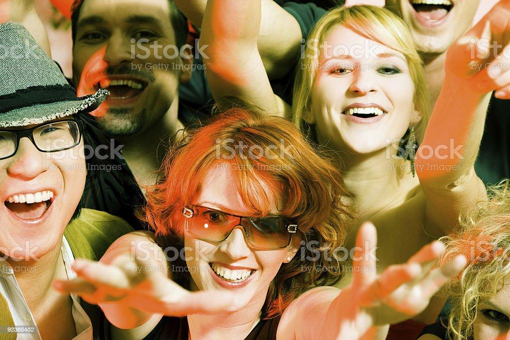 Jubeln Zuschauer Lizenzfreies stock-foto