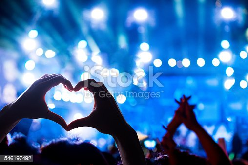 istock Crowd of Audience at during a concert 546197492