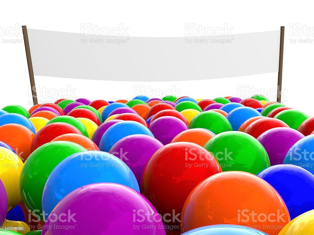 Multitud de coloridos personas - foto de stock