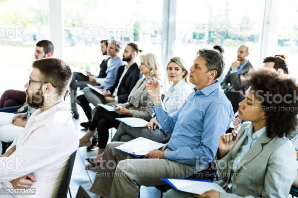 Crowd of entrepreneurs on business seminar in board room picture id1204773476?b=1&k=6&m=1204773476&s=612x612&h=qbleu4tqlxkydxvhogu25rmnroxnmtb7rshi 7hvay4=