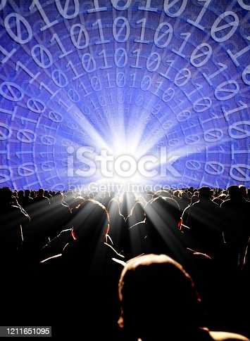 1180187740istockphoto crowd of people and virtual reality 1211651095