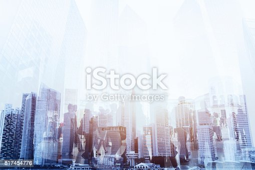 istock crowd of people double exposure 817454776