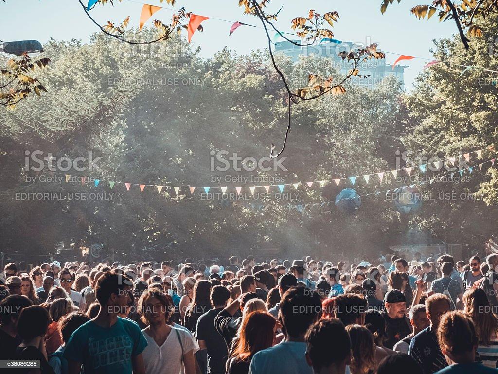 Menge von Menschen – Foto