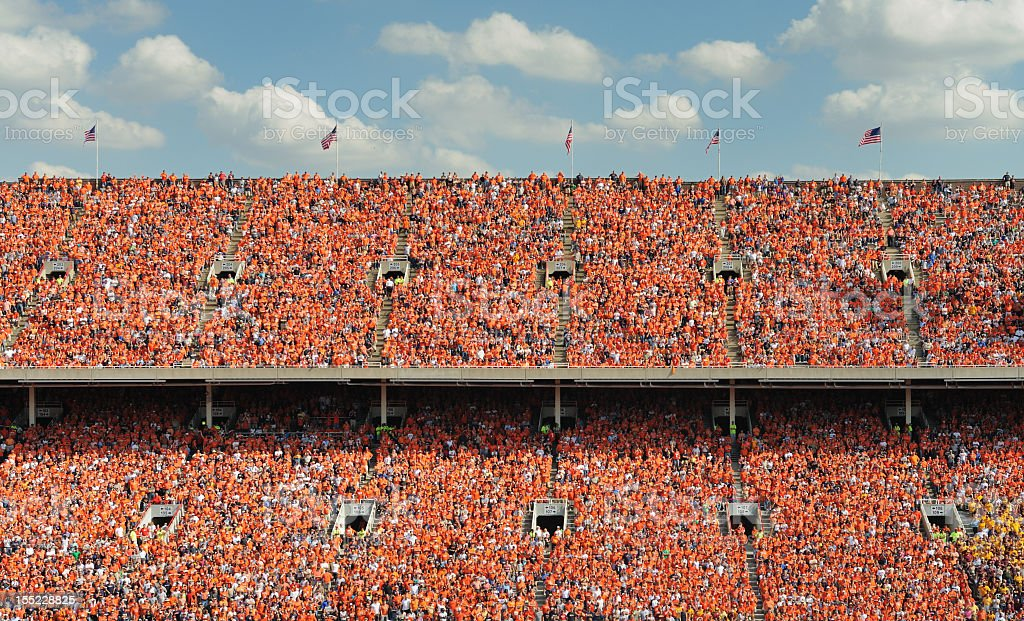 Crowd of thousands royalty-free stock photo