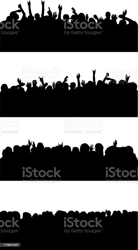Crowd royalty-free stock photo