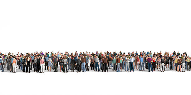 crowd. - crowded stock pictures, royalty-free photos & images