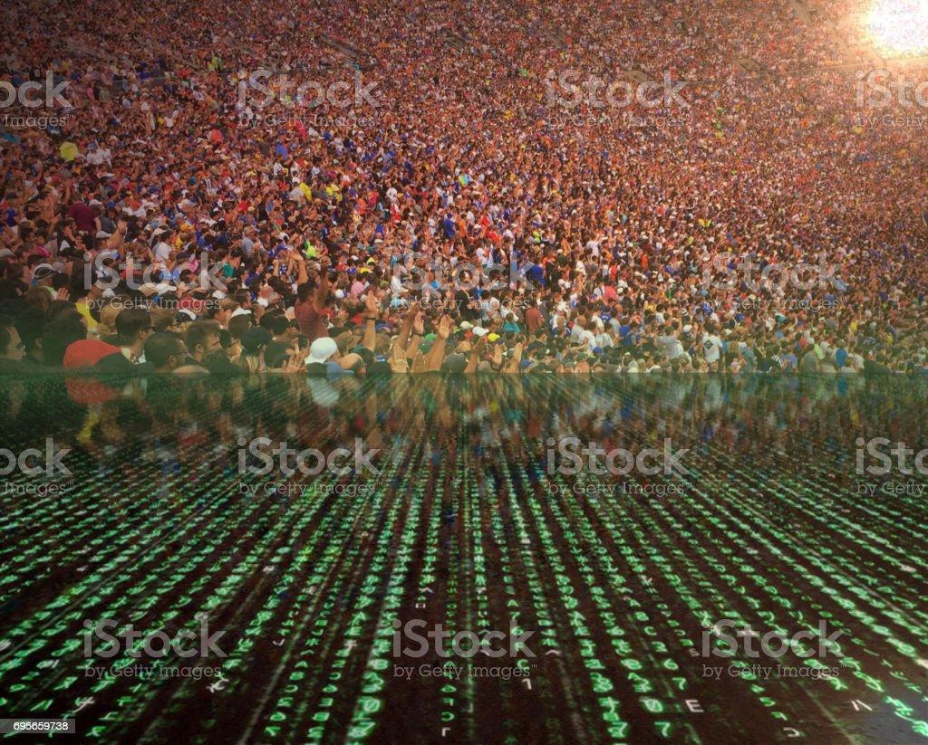 Crowd, Sports, Data, sport event