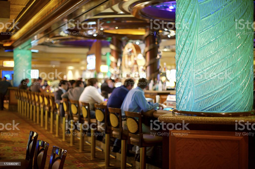 Überfüllten bar in Las Vegas Kasino – Foto