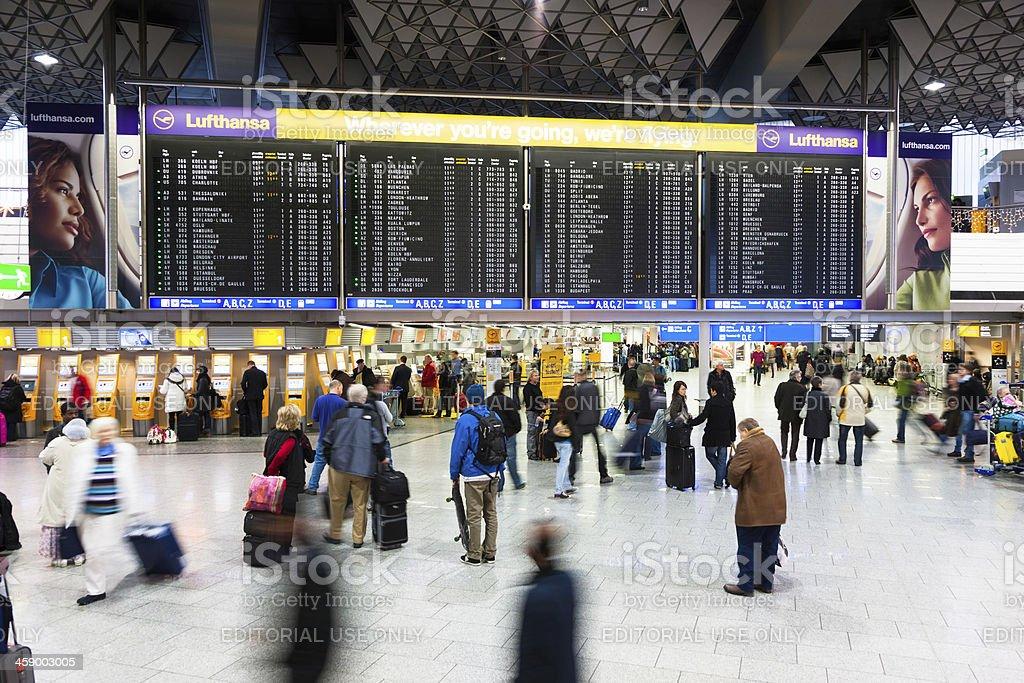 Terminal 1 Abflug