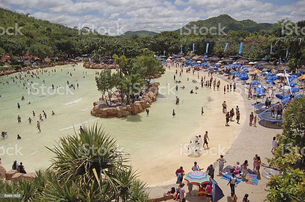 Beengt leisure park Lizenzfreies stock-foto