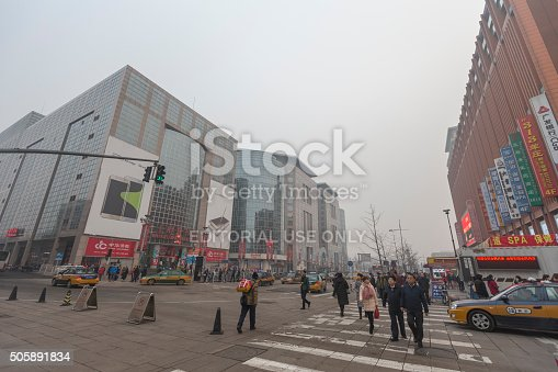 171300639istockphoto Crowds of people in the shopping street of Wangfujing, China 505891834