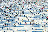 istock Crowds of people 1269747198