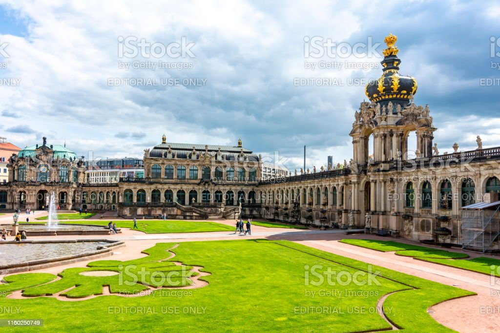Crown Gate In Dresden Zwinger Dresden Germany Stock Photo Download Image Now Istock
