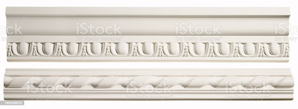 Crown Molding stock photo