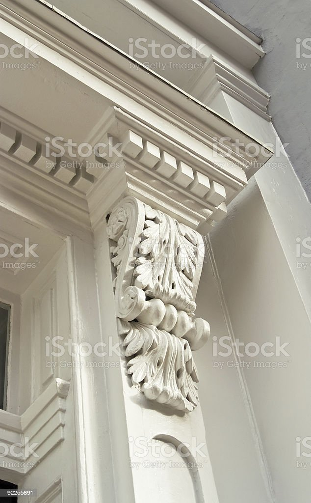 Crown Moulding Around Door Stock Photo Download Image Now Istock