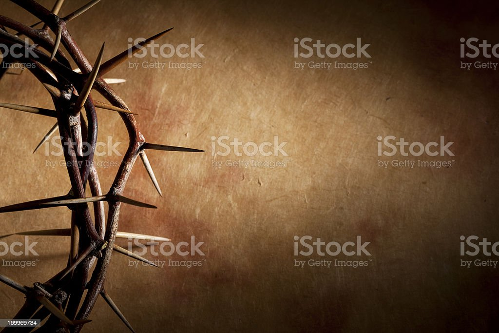 Crown of Thorns with Copyspace - Royalty-free Doorn Stockfoto