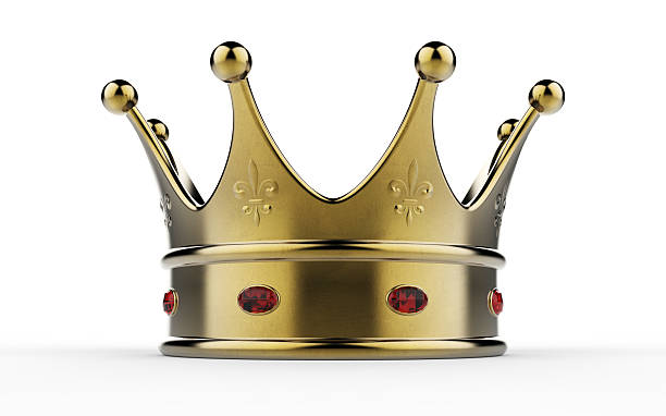 die krone  - könig stock-fotos und bilder