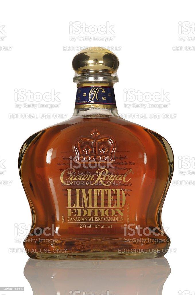 Crown royal whisky royalty-free stock photo