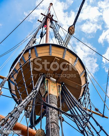 Crows Nest of the Mayflower in Plymouth Harbor