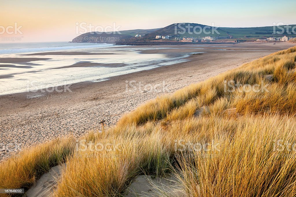 Croyde Devon England UK stock photo
