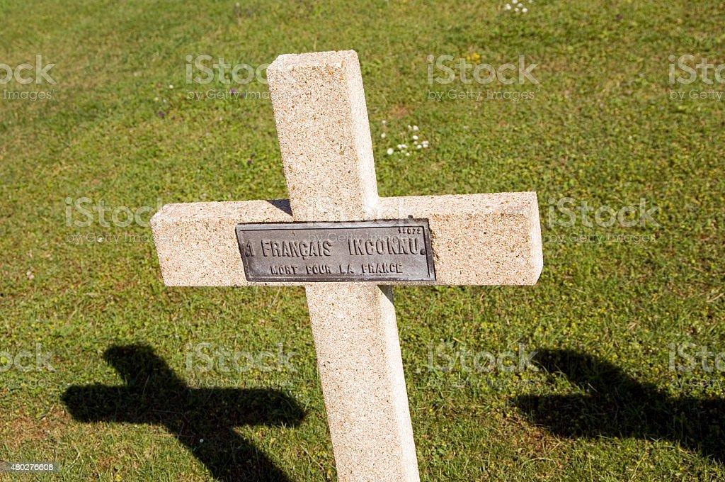 Krucyfiks Grób Nieznanego soldier, Verdun Francja – zdjęcie