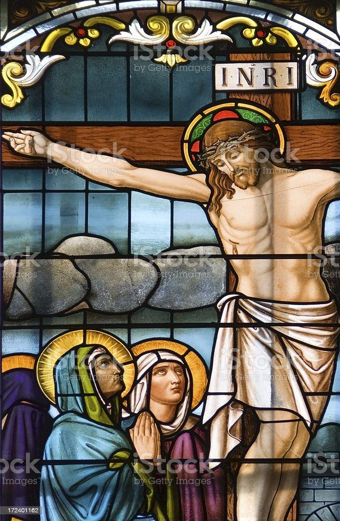 Crucifixion of Jesus Christ royalty-free stock photo