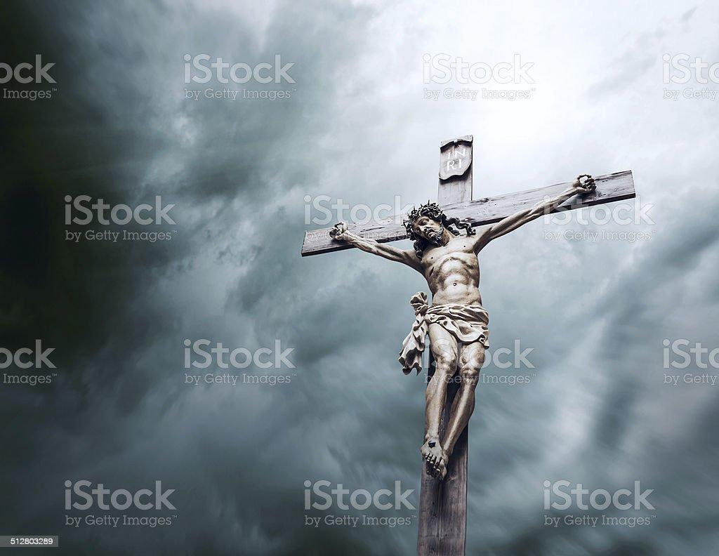 Crucifixion Of Jesus Christ Stock Photo Download Image Now Istock