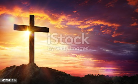 istock Crucifixion Of Jesus Christ 657091114