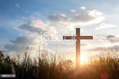 istock Crucifixion Of Jesus Christ 888204140