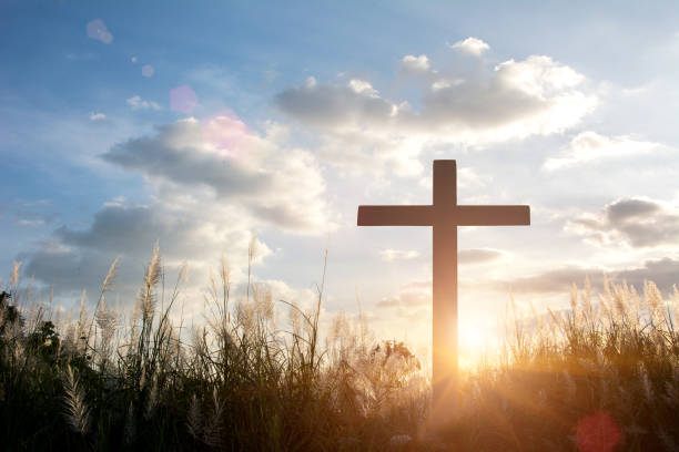 crucifixion de jésus-christ - jesus croix photos et images de collection