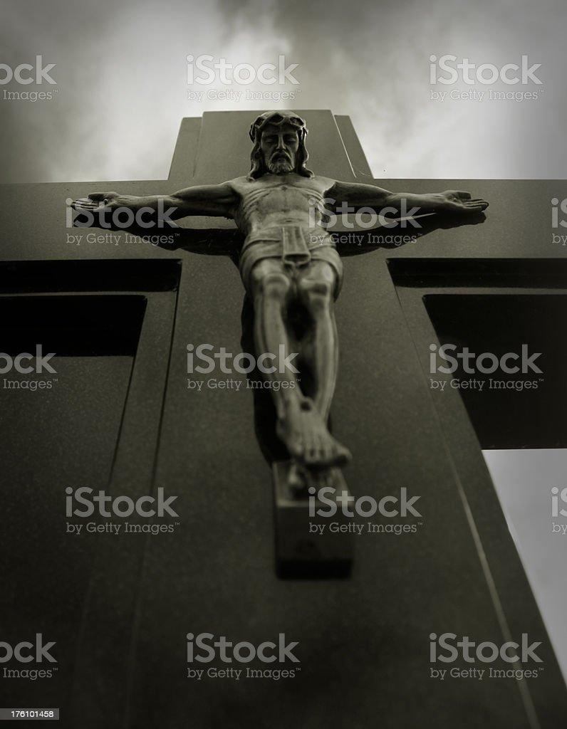 crucifixion royalty-free stock photo