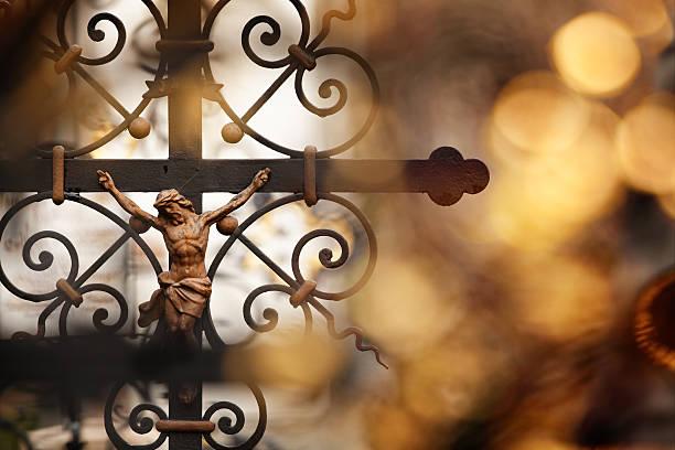 crucifixion - jesus croix photos et images de collection