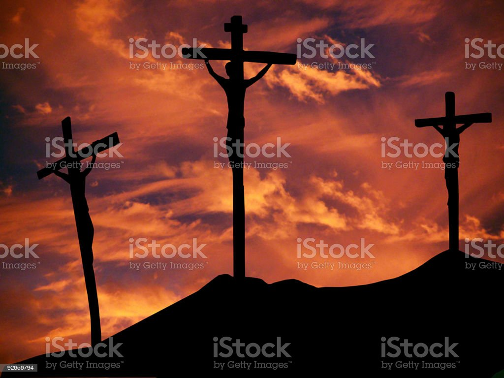 Crucifixion royalty-free stock photo