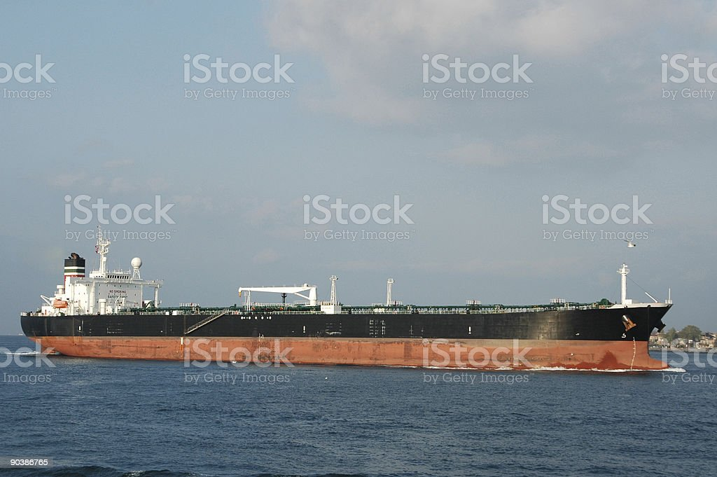 Crude Oil tanker royalty-free stock photo